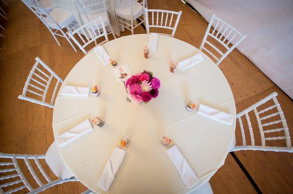 acomodo de mesas